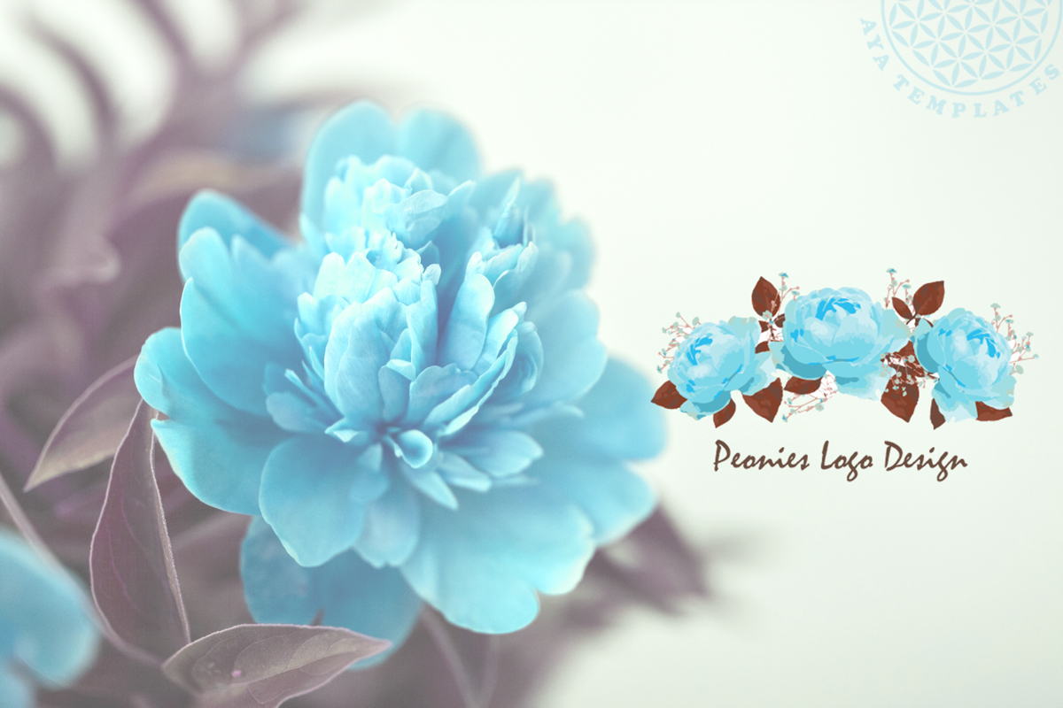 peonies-logo-design-mockup