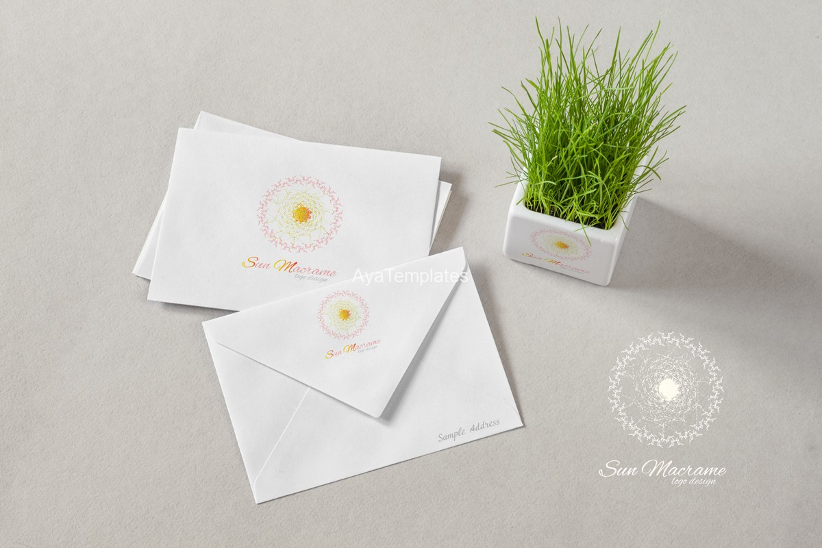 sun-macrame-logo-design-mockup-brand-identity-ayatemplates