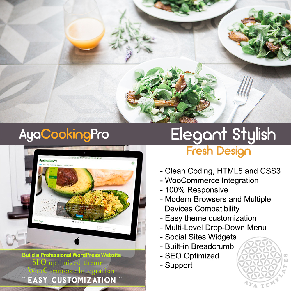 theme-collage-AyaCookingPro-premium-wordpress-theme-mockup