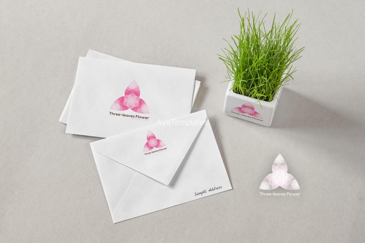 three-leaves-flower-logo-design-branding-mockup-ayatemplates
