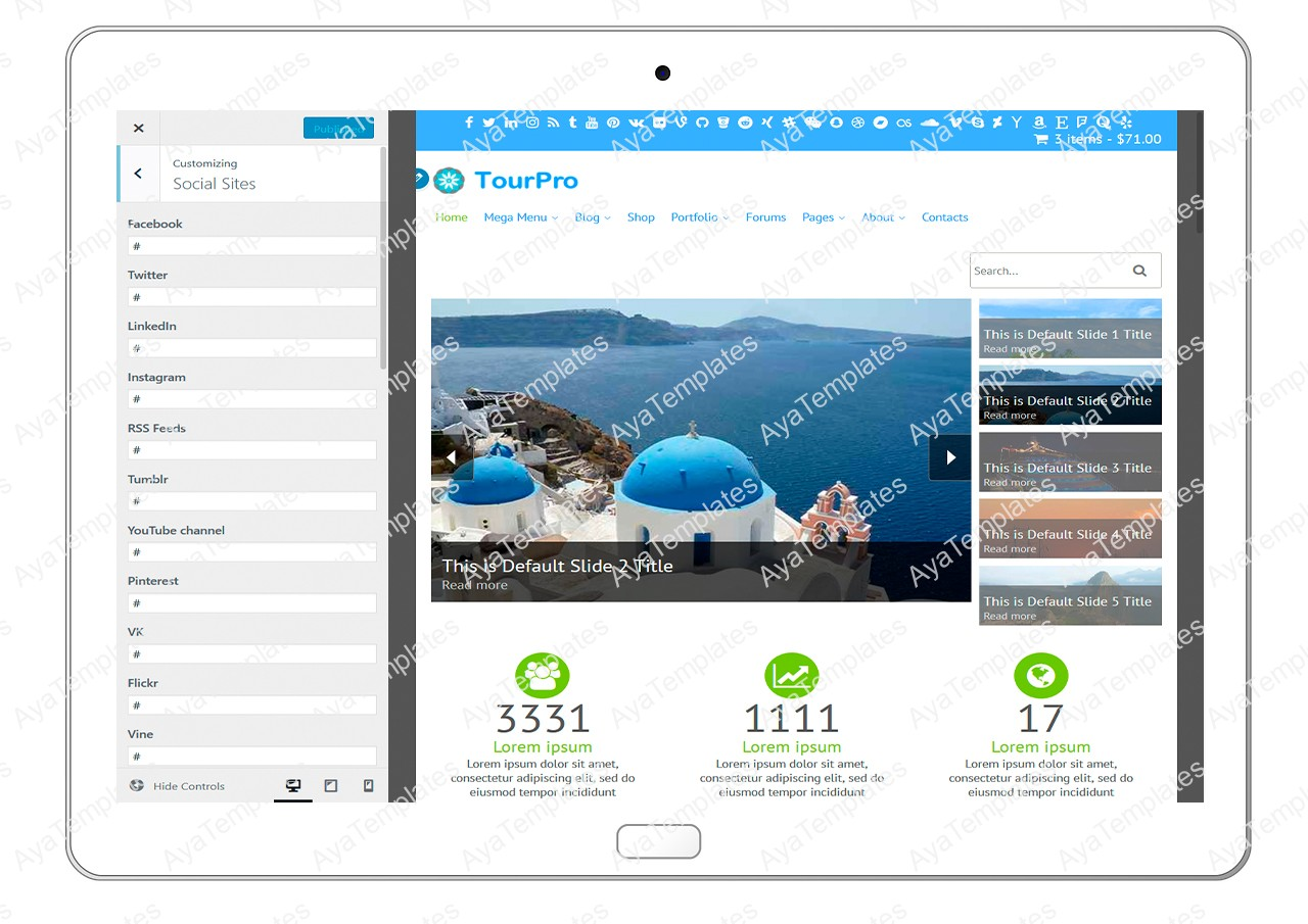 tourpro-customizing-social-sites