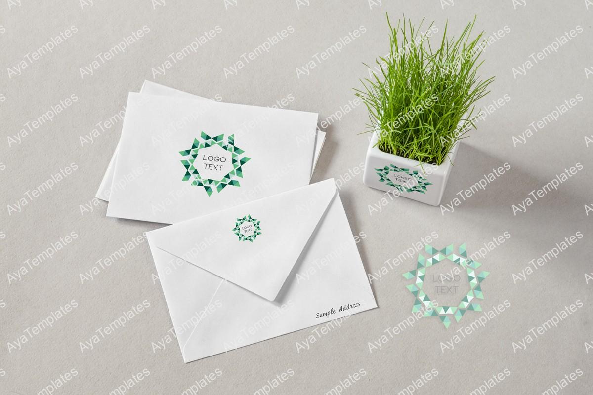 triangle-sun-logo-branding-mockup-ayatemplates
