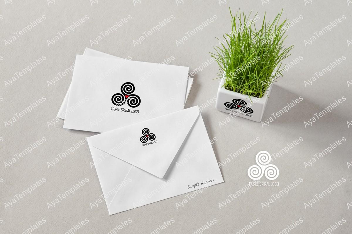 triplr-spiral-logo-brand-mockup-aya-templates