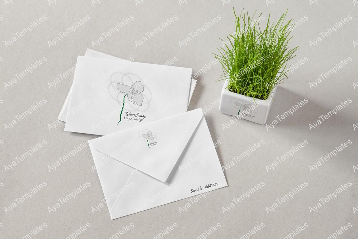 white-poppy-logo-design-brand-identity-mockup-ayatemplates