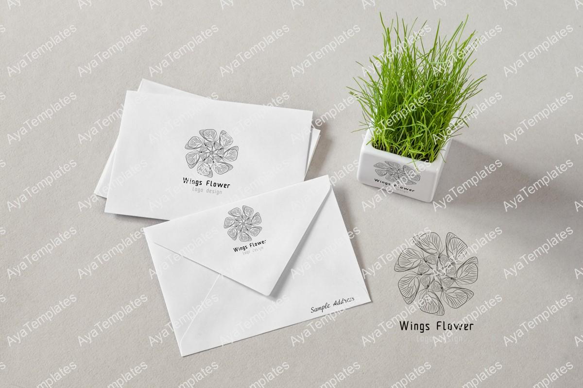 wings-flower-logo-design-mockup1