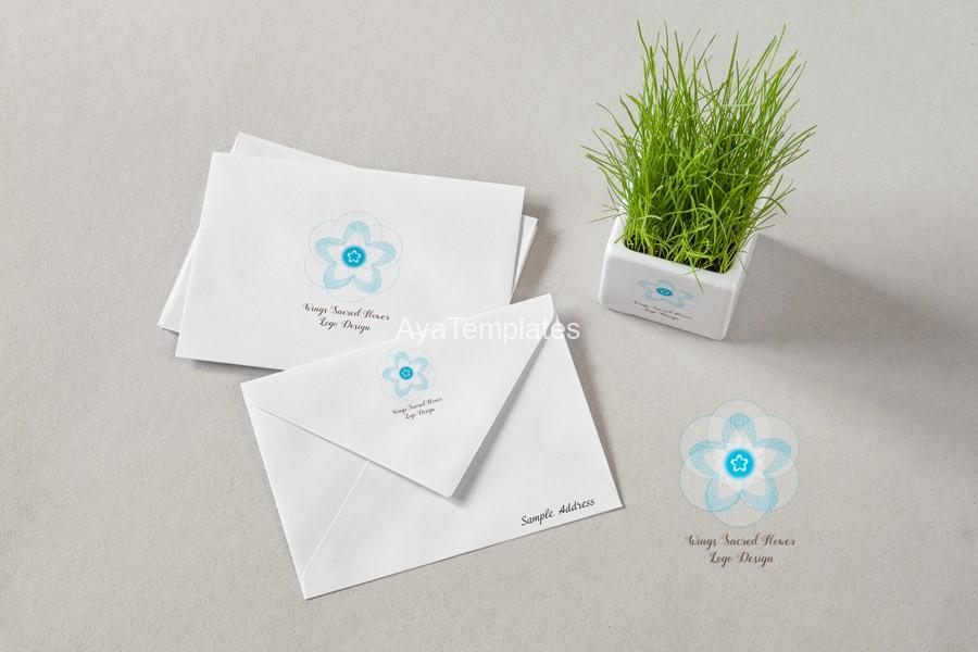 wings-sacred-flower-logo-design-mockup1-ayatemplates-logo-design